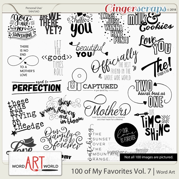 100 of My Favorites Vol. 7
