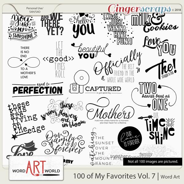 100 of My Favorites Vol. 7