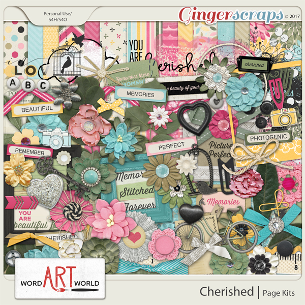 Cherished Page Kit