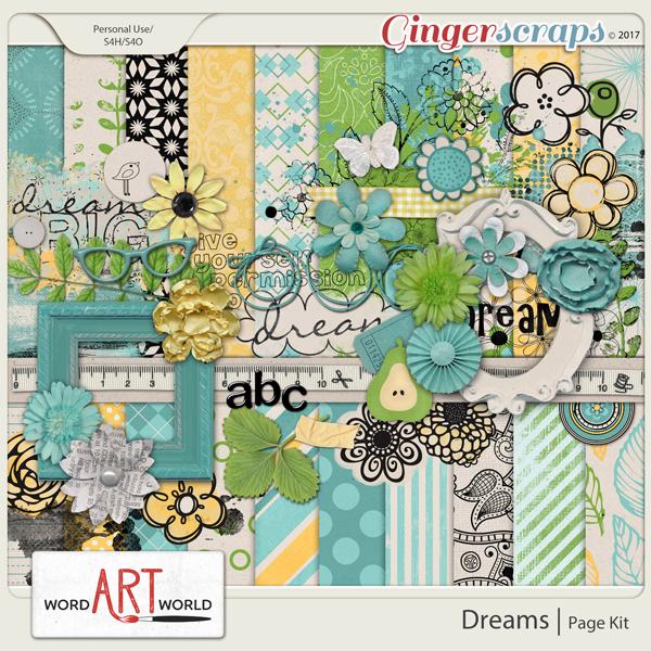 Dreams Page Kit