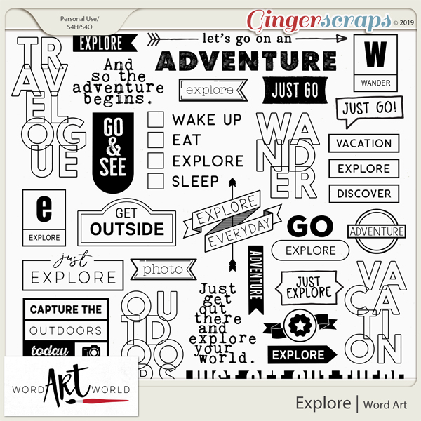 Explore Word Art