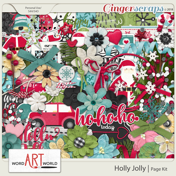Holly Jolly Page Kit