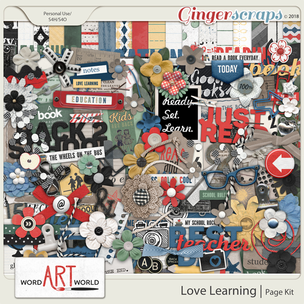 Love Learning Page Kit