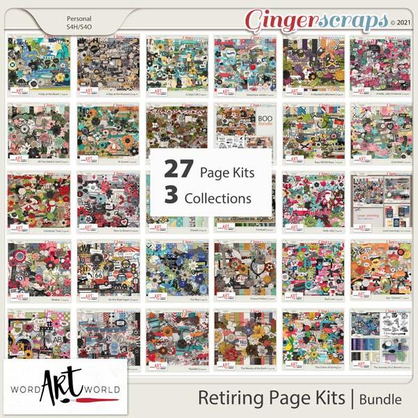 Retiring Page Kits Bundle