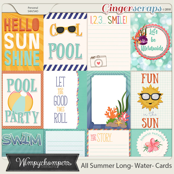 All Summer Long- Water- Cards