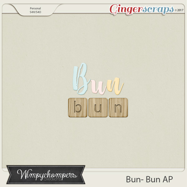 Bun Bun Alphabet