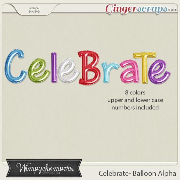 Celebrate- Balloon Alpha