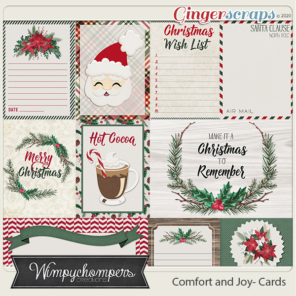 Comfort and Joy Cards