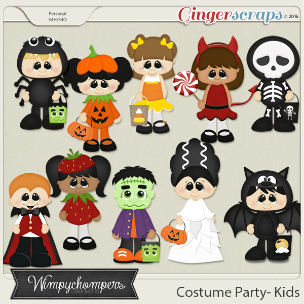 Costume Party Kids