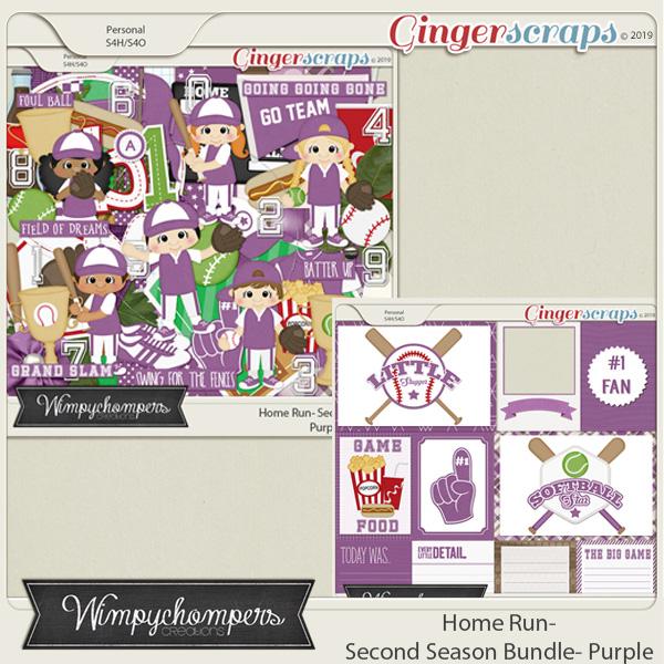 Home Run- Second Season Purple Bundle