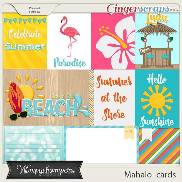 Mahalo Cards
