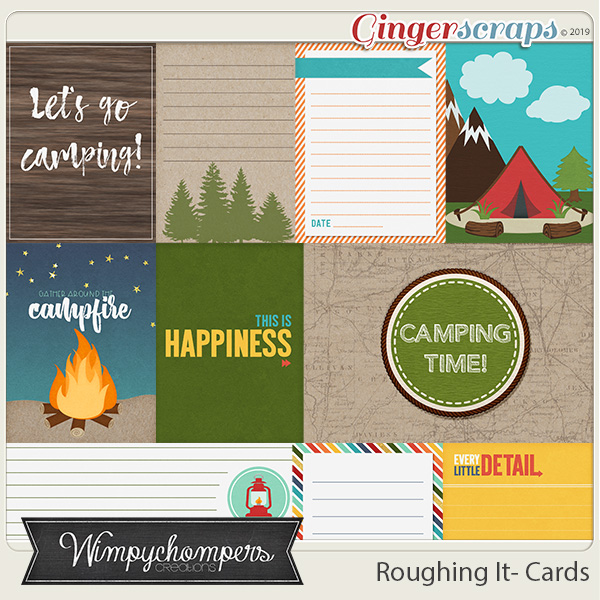 Roughing It Cards