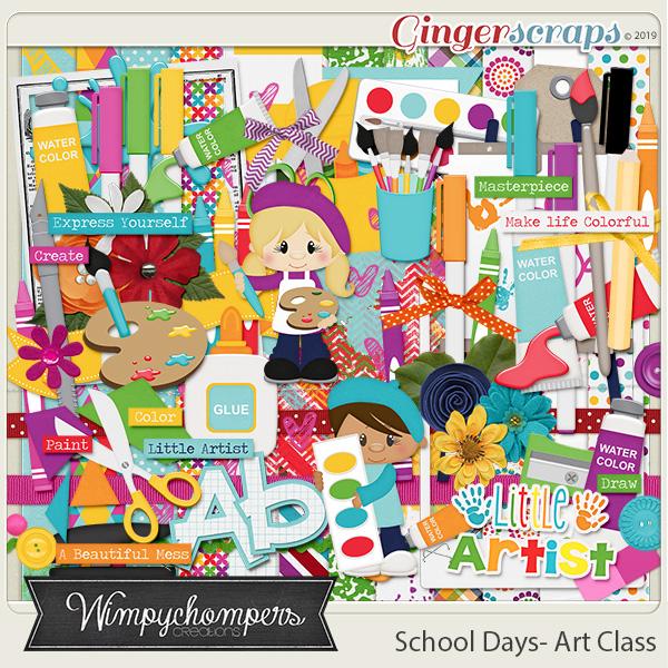 School Days- Art Class