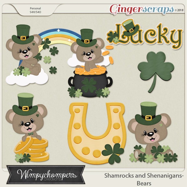 Shamrocks and Shenanigans- Bears
