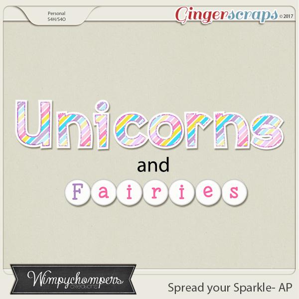 Spread your Sparkle- Alphabet