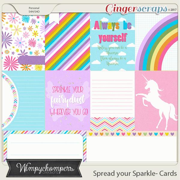Spread your Sparkle- Cards