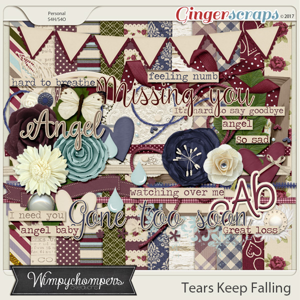 Tears Keep Falling