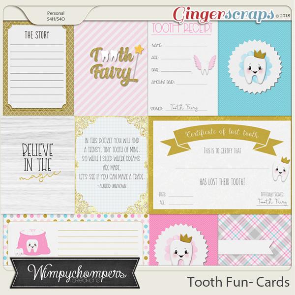 Tooth Fun- Cards