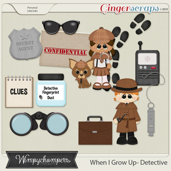 When I grow up- Detective
