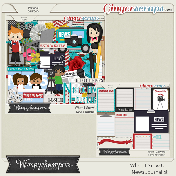 When I Grow Up- News Journalist Bundle