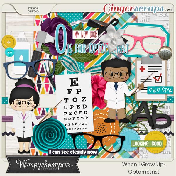 When I Grow Up- Optometrist