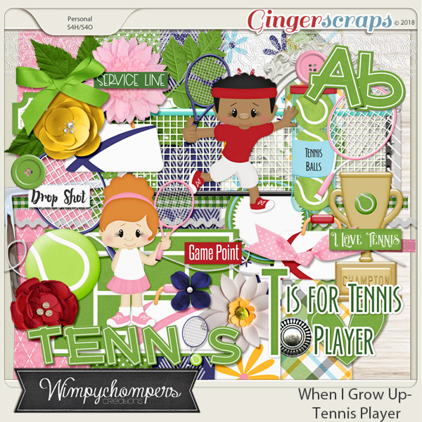 When I Grow Up- Tennis Player