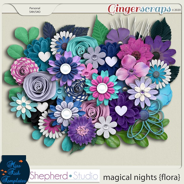 Magical Nights Flora Add On by Miss Fish and Shepherd Studios