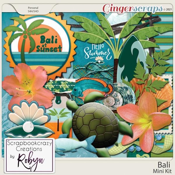 Bali Mini Kit by Scrapbookcrazy Creations
