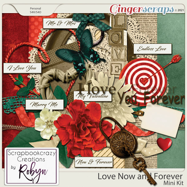 Love Now and Forever by Scrapbookcrazy Creations
