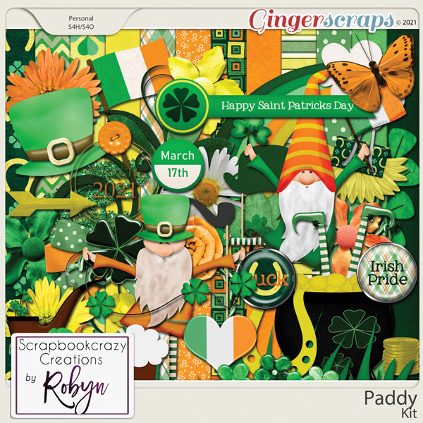 Paddy Kit by Scrapbookcrazy Creations
