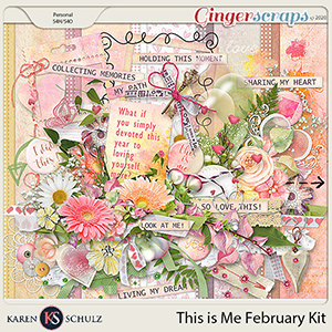 This is Me February by Karen Schulz