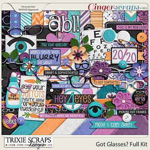 Got Glasses? Full Kit by Trixie Scraps Designs