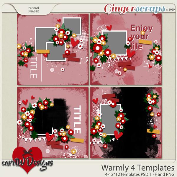 Warmly 4 Template by CarolW Designs
