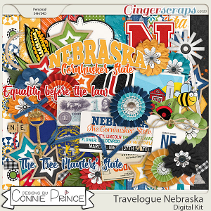 Travelogue Nebraska - Kit by Connie Prince