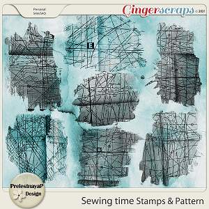 Sewing time Stamps & Patterns