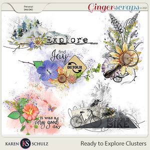 Ready to Explore Clusters by Karen Schulz
