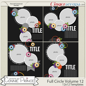 Full Circle Volume 12 - 12x12 Temps (CU Ok) by Connie Prince