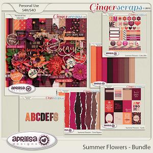 Summer Flowers - Bundle by Aprilisa Designs