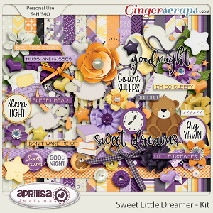 Sweet Little Dreamer - Kit by Aprilisa Designs