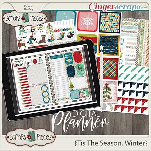 Tis The Season - Winter Planner - Scraps N Pieces