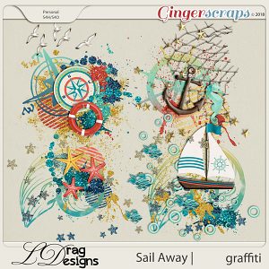 Sail Away: Graffiti by LDrag Designs