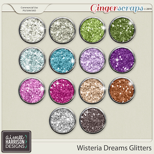 Wisteria Dreams Glitters by Aimee Harrison