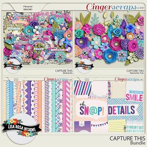 Capture This - Bundle by Lisa Rosa Designs