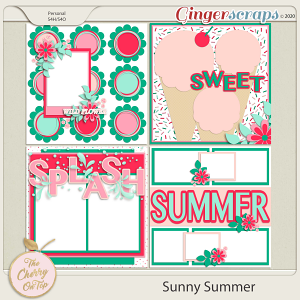 The Cherry On Top:  Sunny Summer Templates