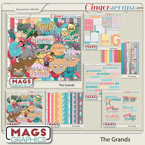 The Grands BUNDLE by MagsGraphics