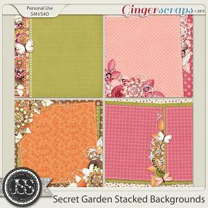 Secret Garden Stacked Backgrounds