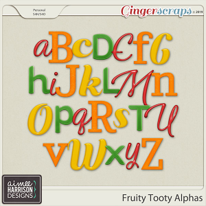 Fruity Tooty Alpha Sets by Aimee Harrison