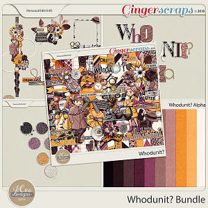 Whodunit Bundle by JoCee Designs