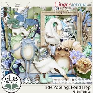 Tide Pooling: Pond Hop Elements by ADB Designs