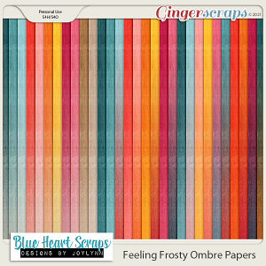 Feeling Frosty Ombre Paper Pack